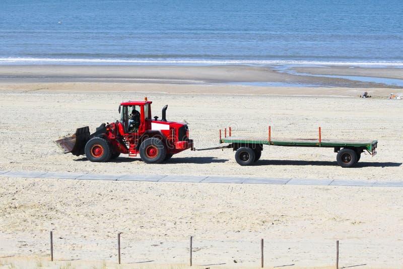 Fonctionnez à la plage - en se préparant au summerseason images stock