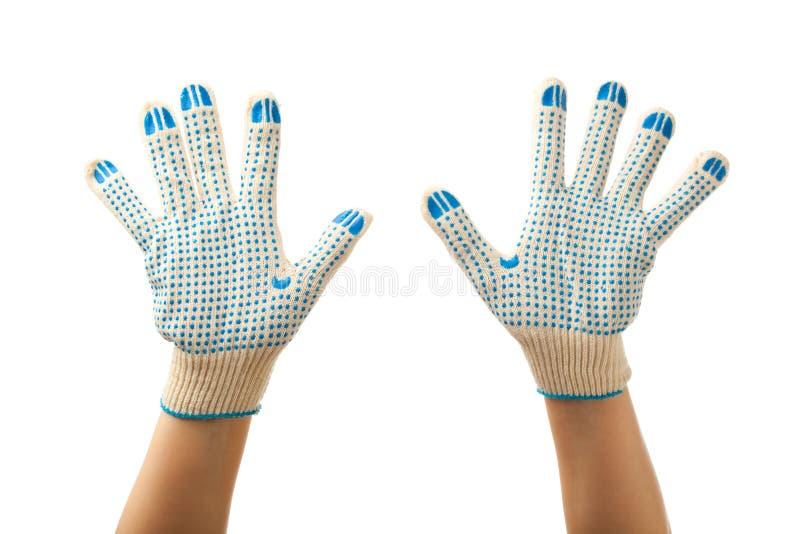 Fonctionnez les gants photo stock