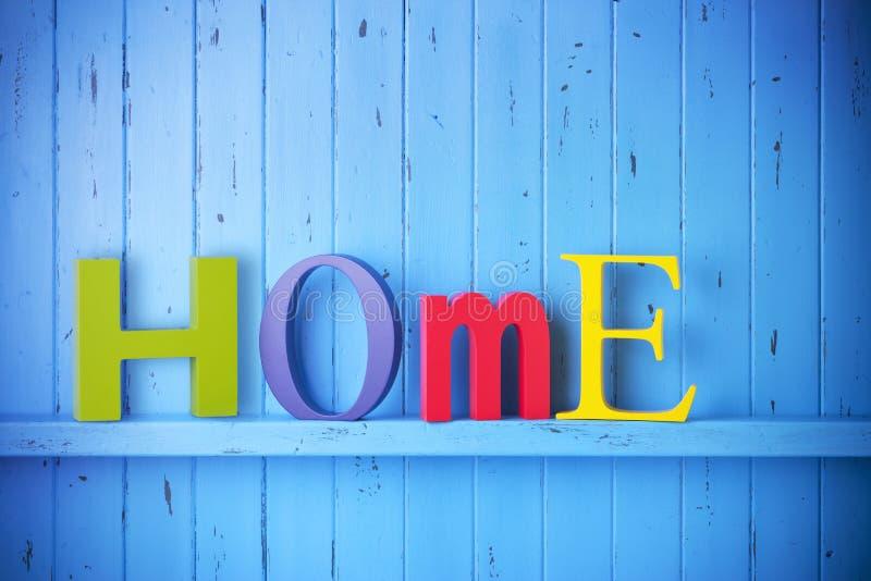 Fond à la maison image stock