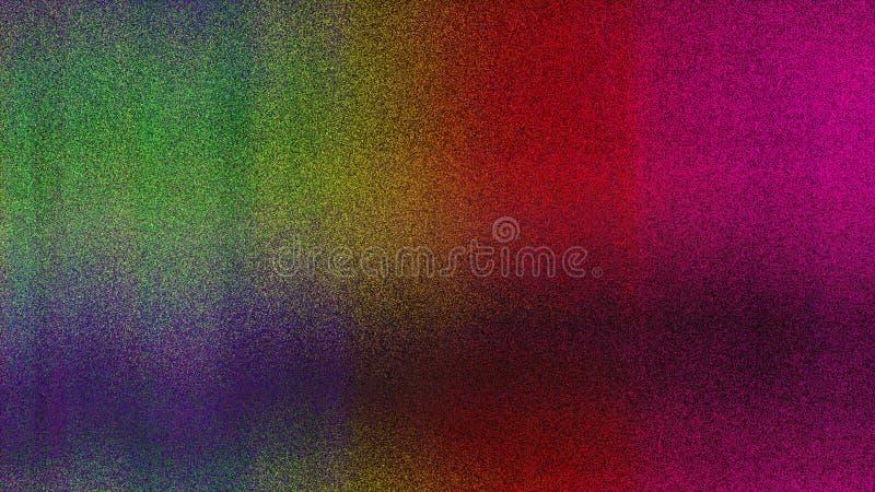 Fond à la mode coloré de texture tordu par grain grunge de bruit illustration libre de droits