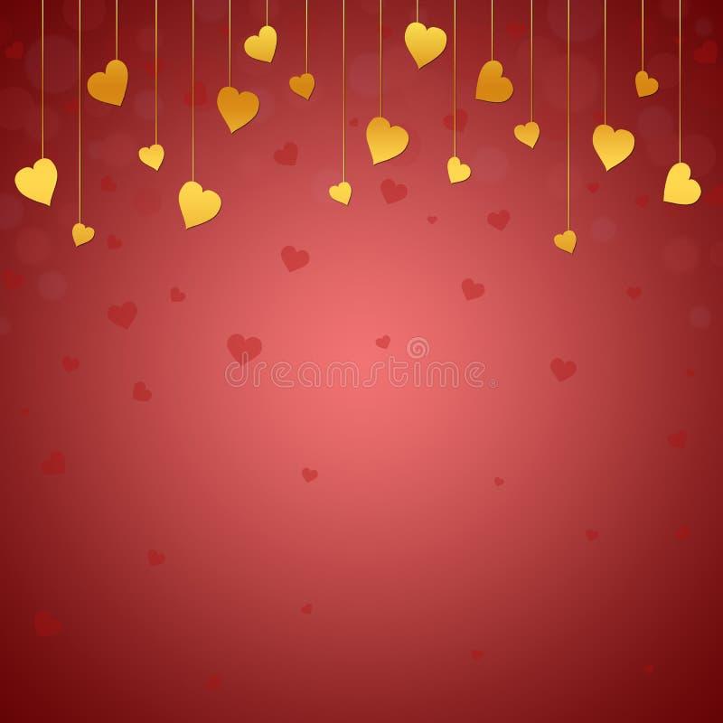 Fond à la Saint-Valentin illustration stock