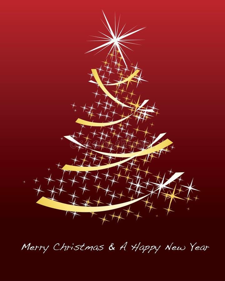 Fond éclatant de Noël illustration libre de droits