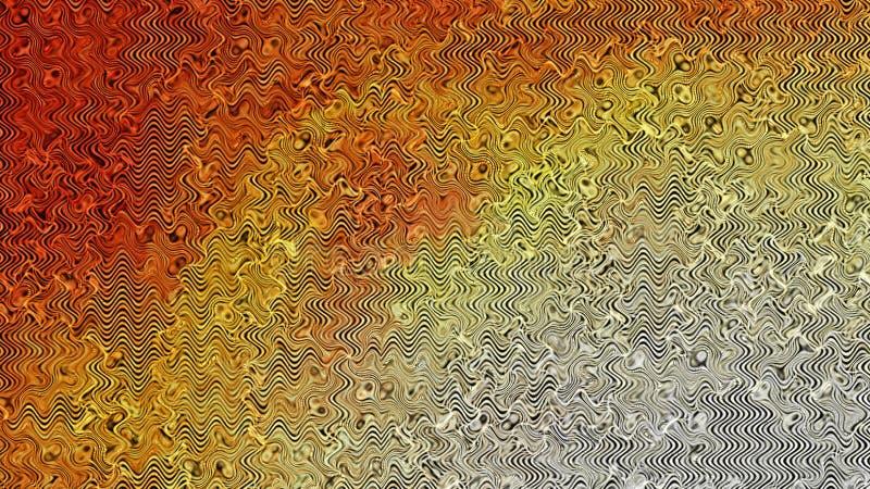 Fond élégant de conception de l'industrie graphique d'illustration d'Art Background Beautiful de fractale orange de modèle illustration libre de droits