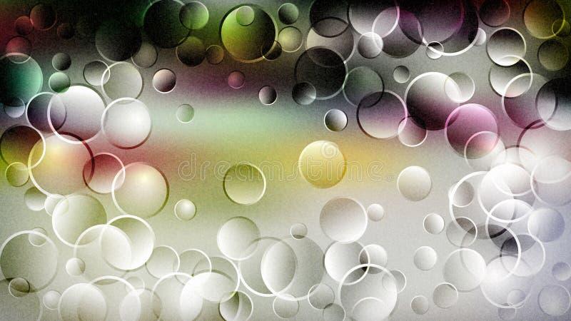 Fond élégant de conception de l'industrie graphique d'illustration d'Art Beautiful de fractale de modèle de conception illustration de vecteur