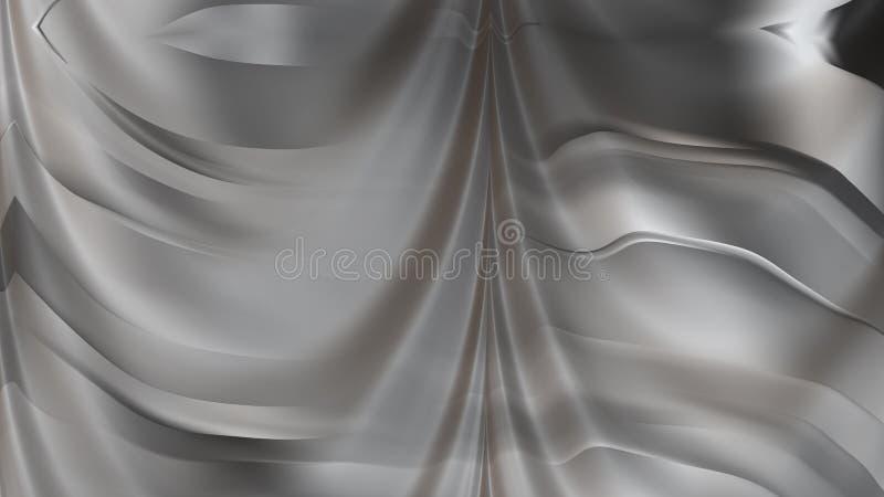 Fond élégant de conception de l'industrie graphique d'illustration de Grey Abstract Texture Background Beautiful illustration de vecteur
