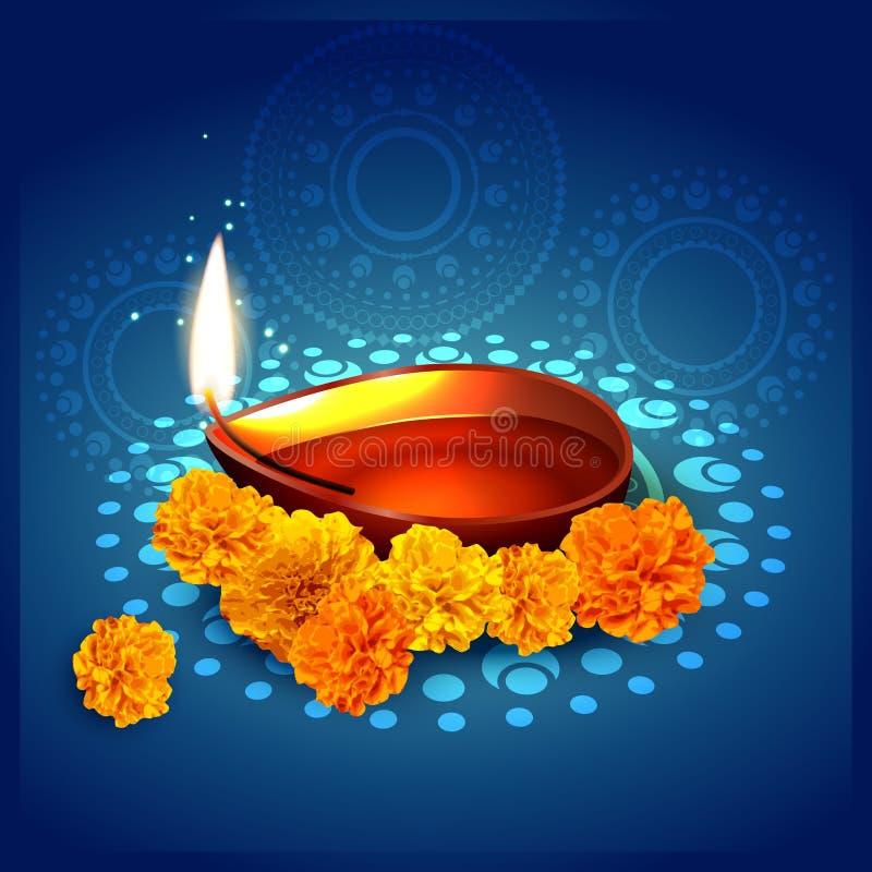 Fond élégant de diwali