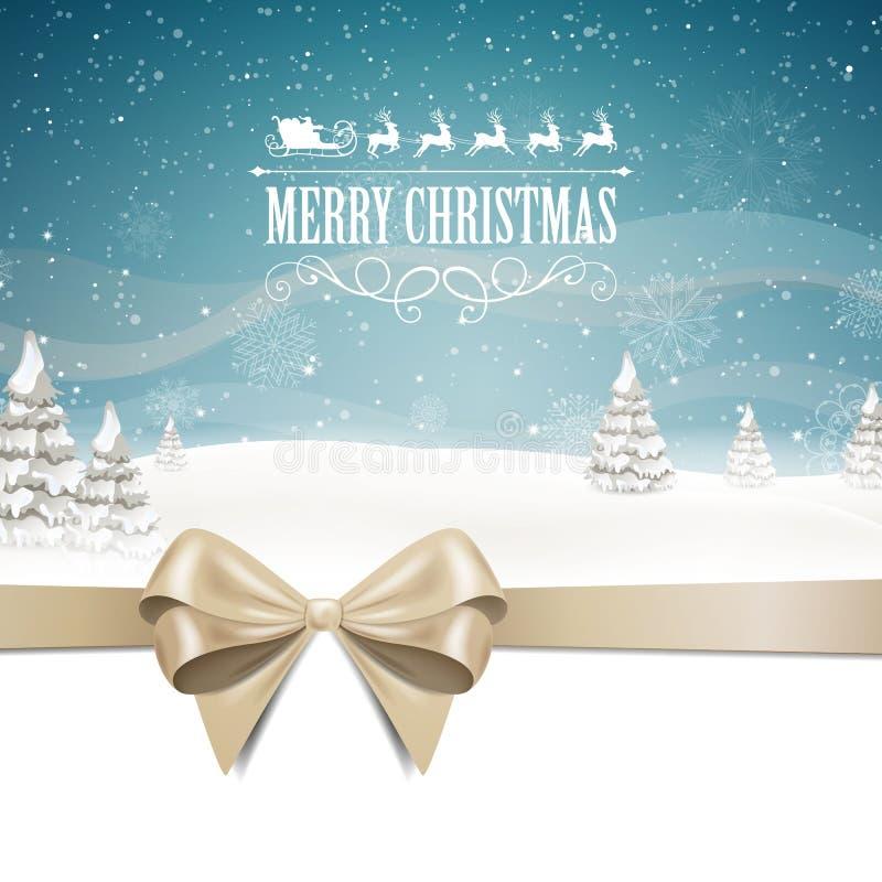 Fond élégant de Noël illustration de vecteur