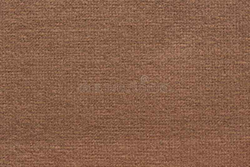 Fond élégant de tissu dans le ton luxuriant de chocolat images stock