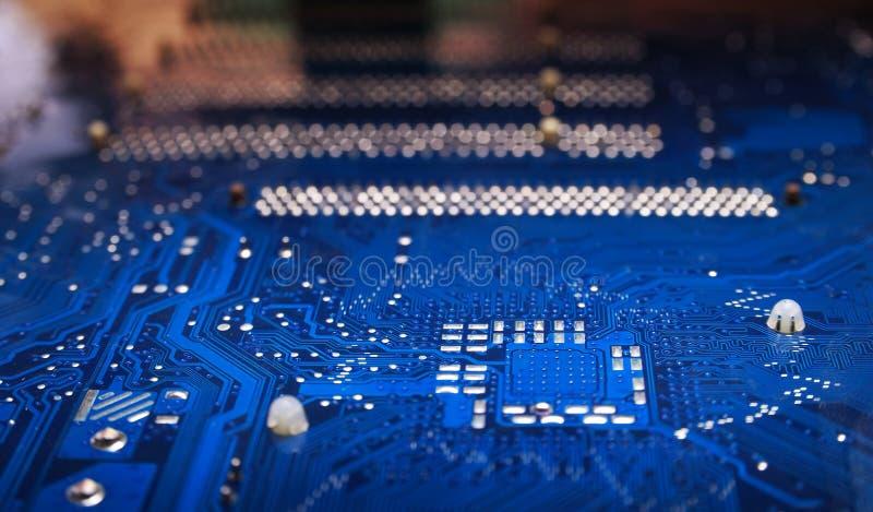 Fond électronique image stock