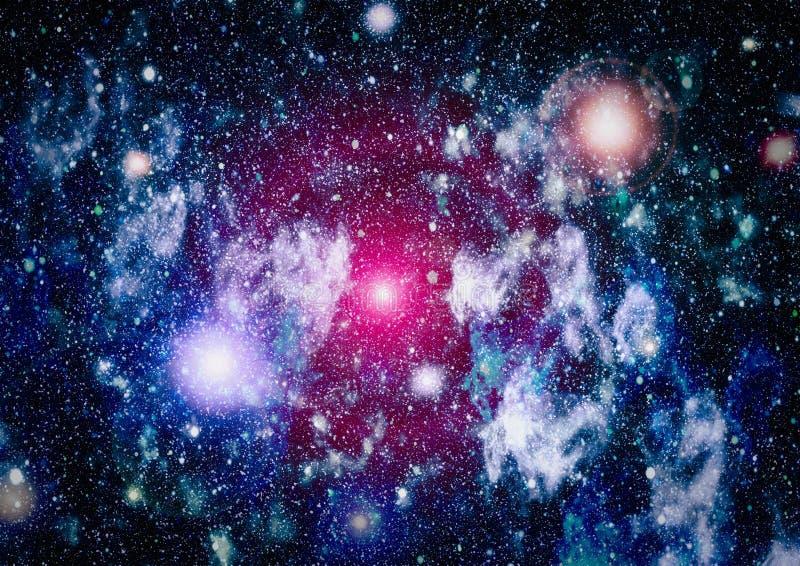 Fond élevé de gisement d'étoile de définition Texture étoilée de fond d'espace extra-atmosphérique Fond étoilé coloré d'espace ex photos libres de droits