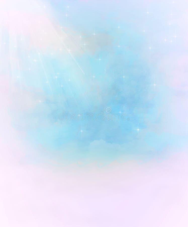 Fond étoilé abstrait d'imagination illustration libre de droits