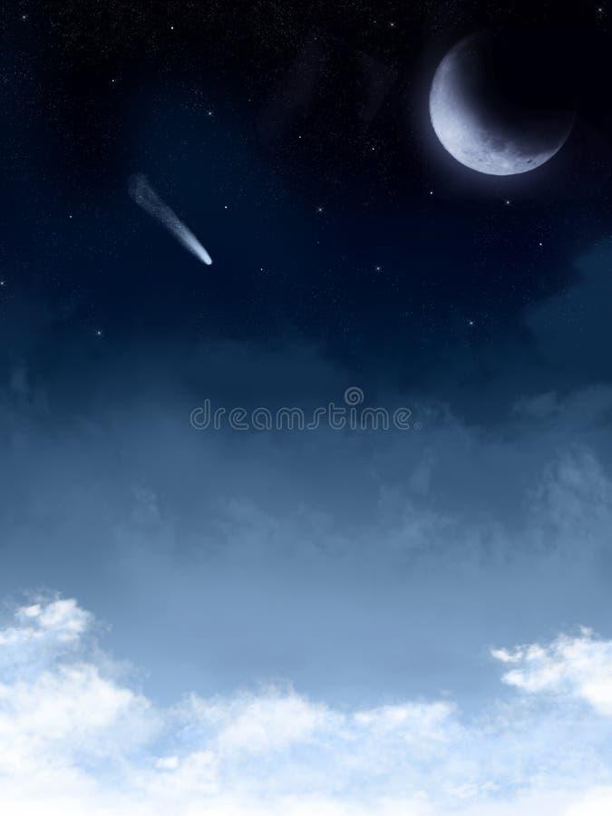 Fond étoilé de nuit