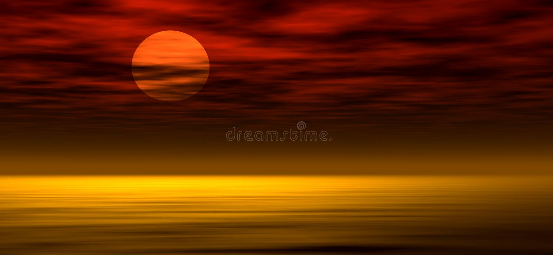 Fond 2 de coucher du soleil illustration stock