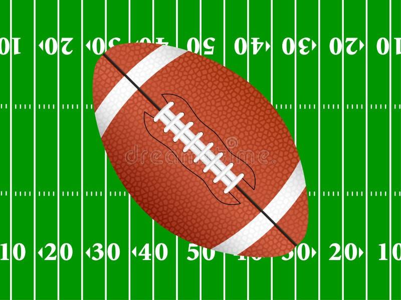 Fond 2 de football américain illustration de vecteur