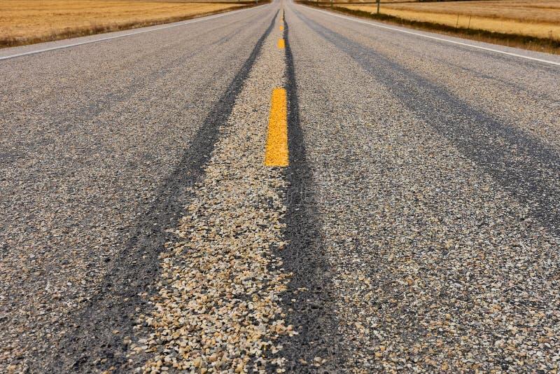 Fond abandonné de route photo libre de droits