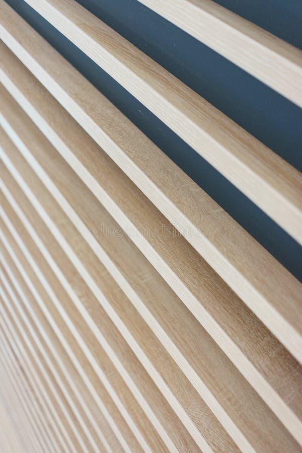 Fond abstrait élégant lumineux des conseils en bois photos stock