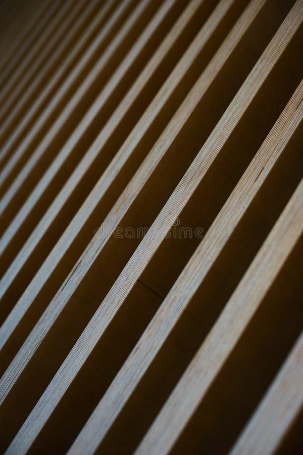 Fond abstrait élégant lumineux des conseils en bois photos libres de droits