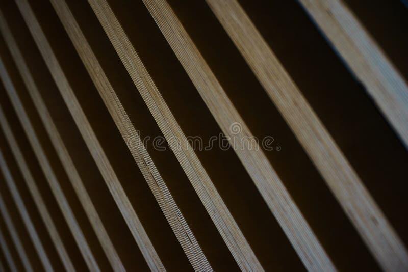 Fond abstrait élégant lumineux des conseils en bois photographie stock libre de droits