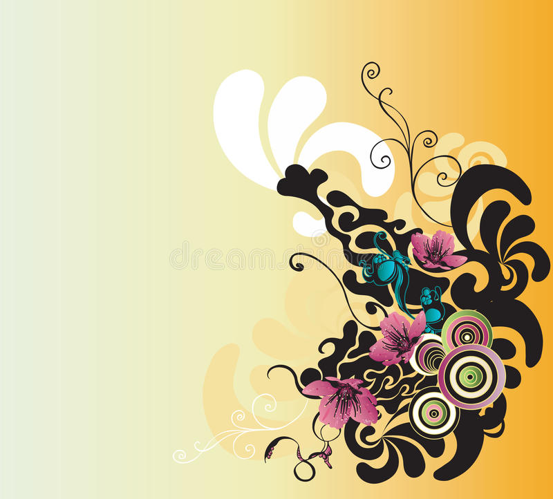 Fond abstrait illustration stock