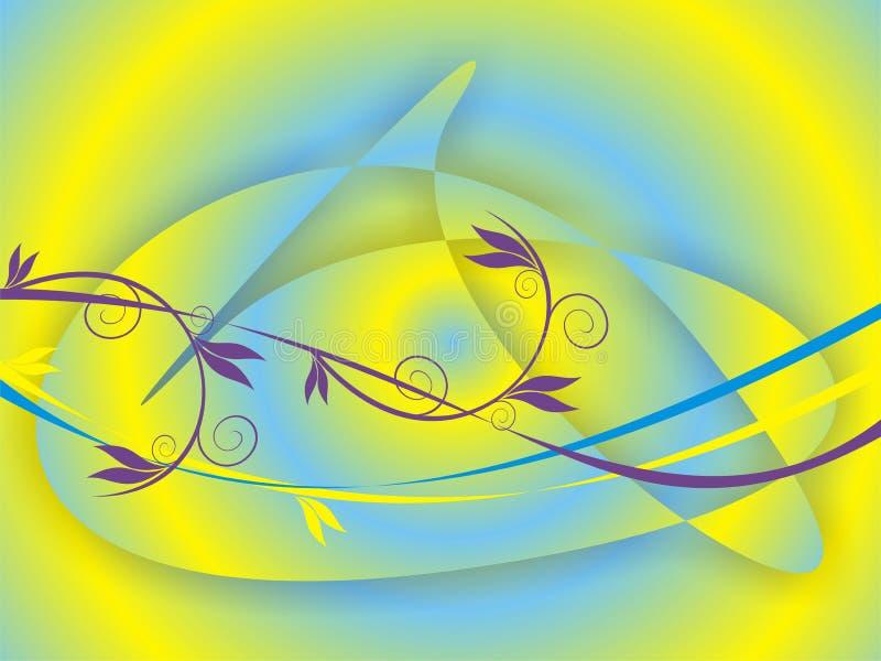 Fond abstrait 2 illustration de vecteur