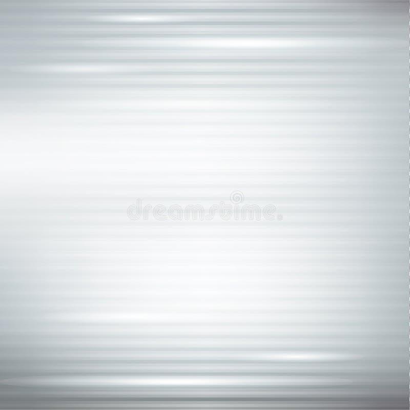 Fond abstrait argenté illustration stock