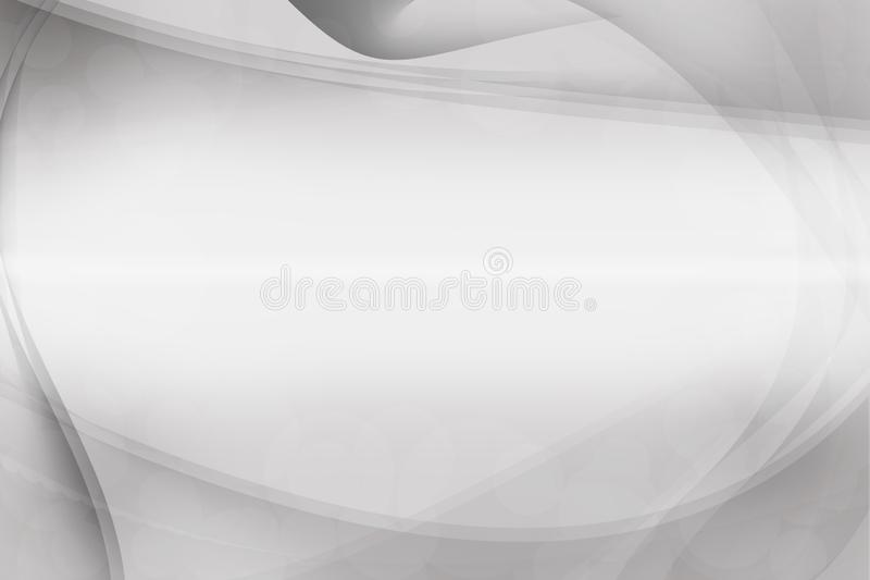 Fond abstrait argenté blanc et gris, fond de carte de visite professionnelle de visite photo libre de droits