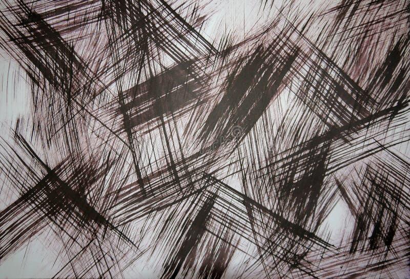 Fond abstrait - art Points culminants légers sur le métal Image différenciée Une palette limit?e est utilis?e images stock