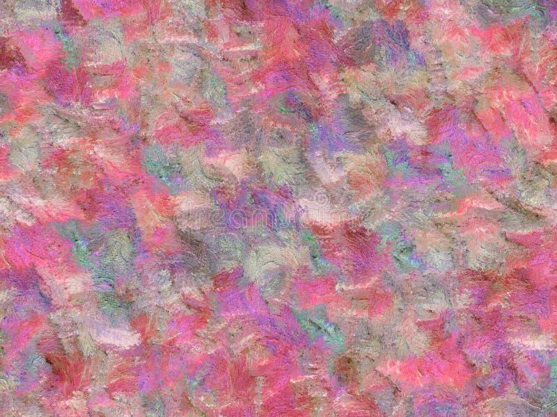 Fond abstrait aux couleurs pastel de rose, violettes, vert photographie stock libre de droits