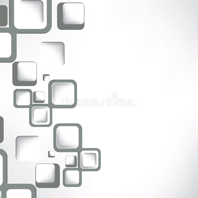Fond abstrait avec des formes géométriques illustration libre de droits