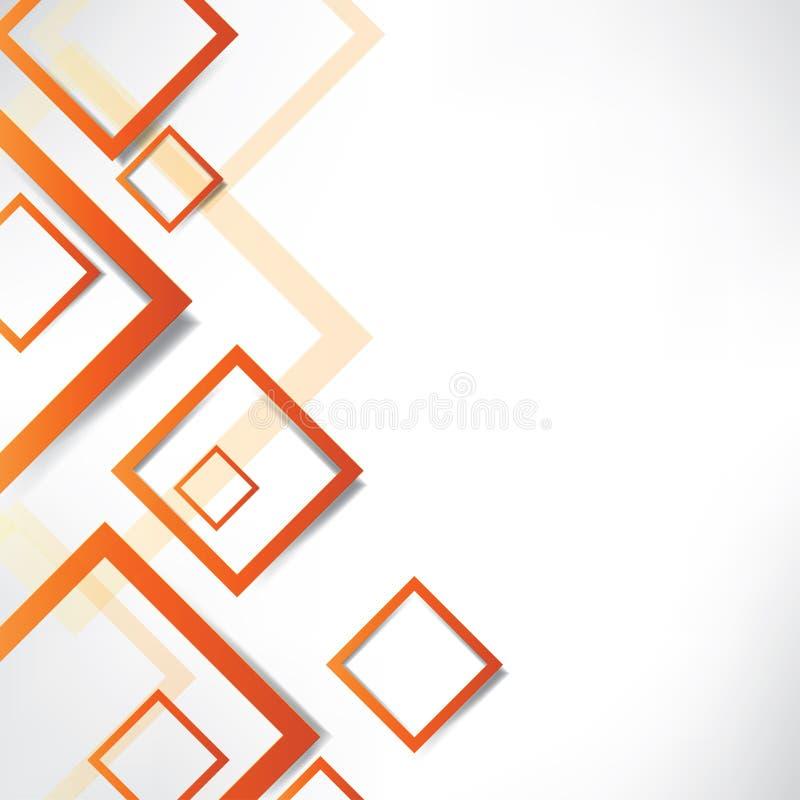 Fond abstrait avec des formes géométriques illustration stock