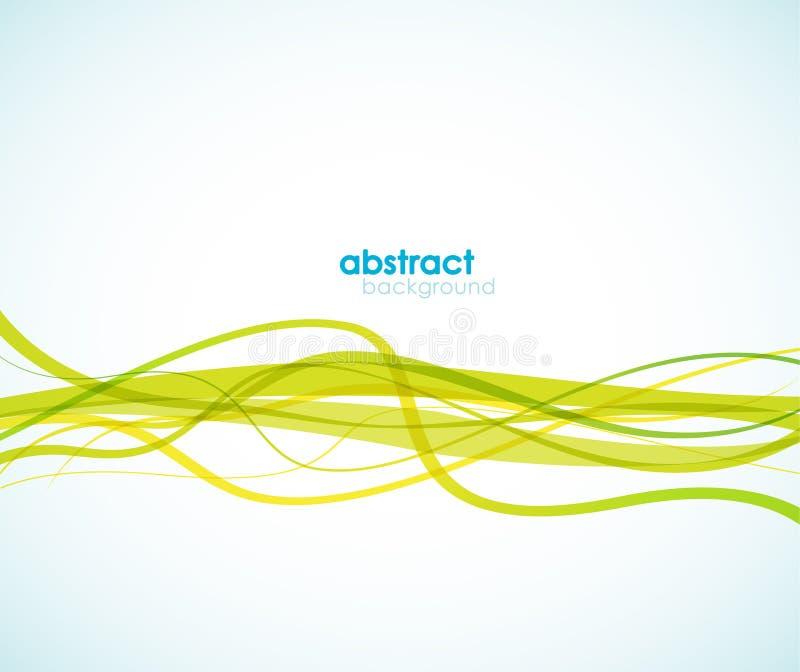 Fond abstrait avec des lignes. illustration de vecteur