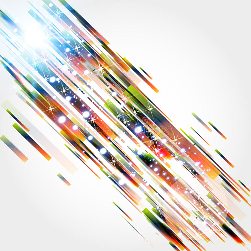 Fond abstrait avec des lignes droites illustration stock