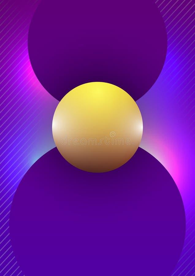 Fond abstrait avec la ligne géométrique colorée texture de gradient image stock