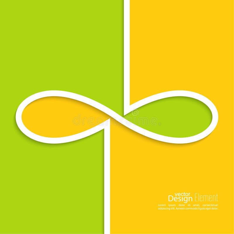 Fond abstrait avec le signe de l 39 infini illustration de vecteur illustration du inviolabilit - Le signe de l infini ...