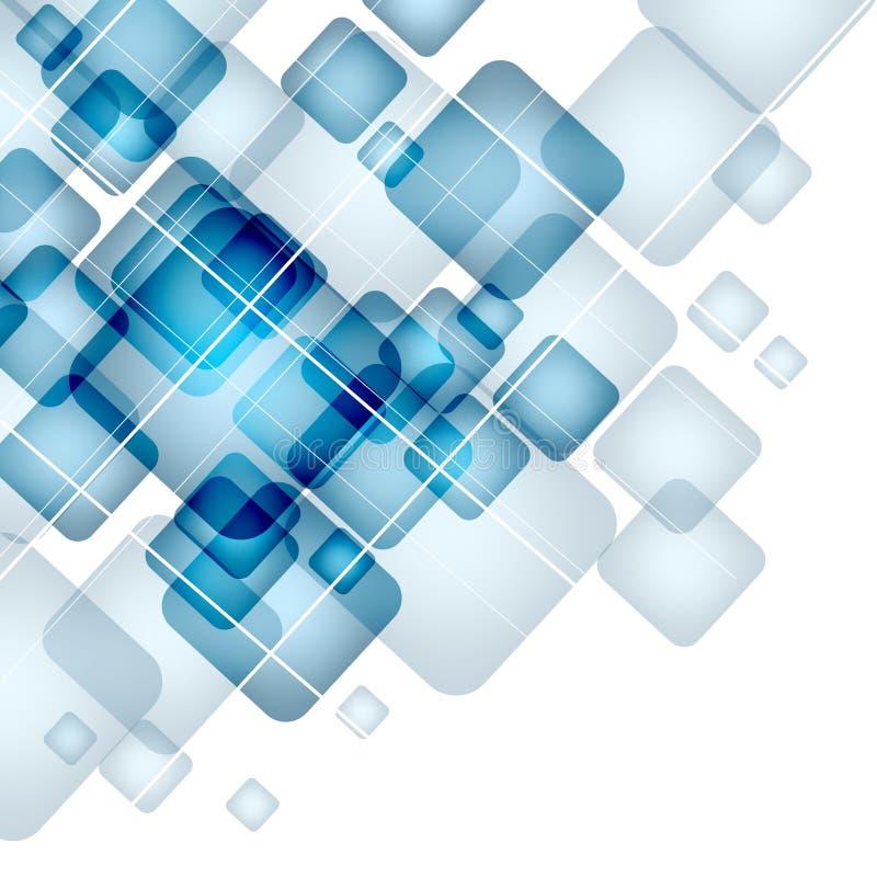 Fond abstrait avec les places transparentes ENV illustration libre de droits