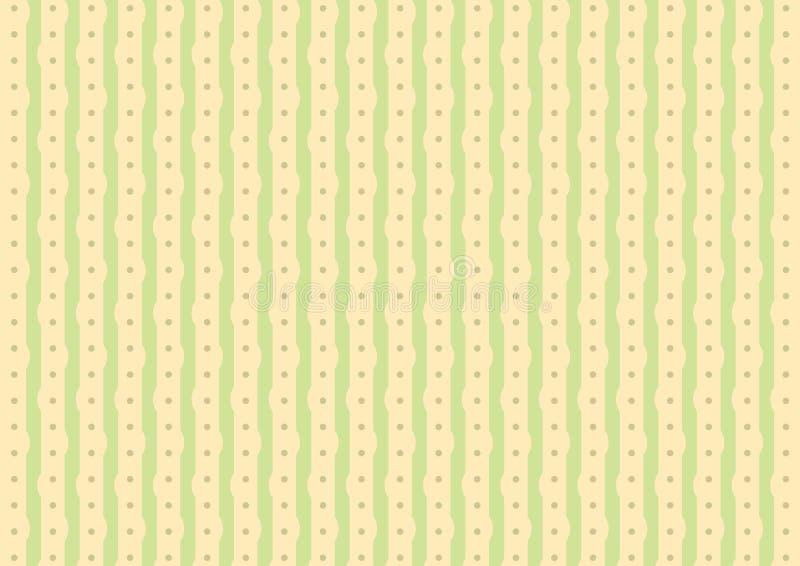 Fond abstrait avec une rayure mignonne illustration stock