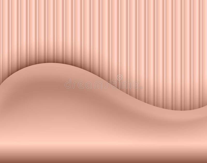Fond abstrait beige illustration de vecteur