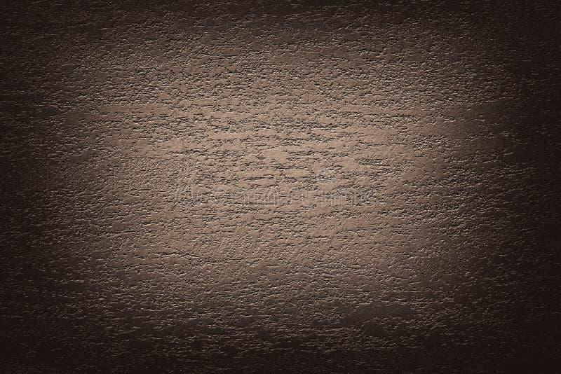 Fond abstrait beige de vignette de texture de brun foncé photos libres de droits