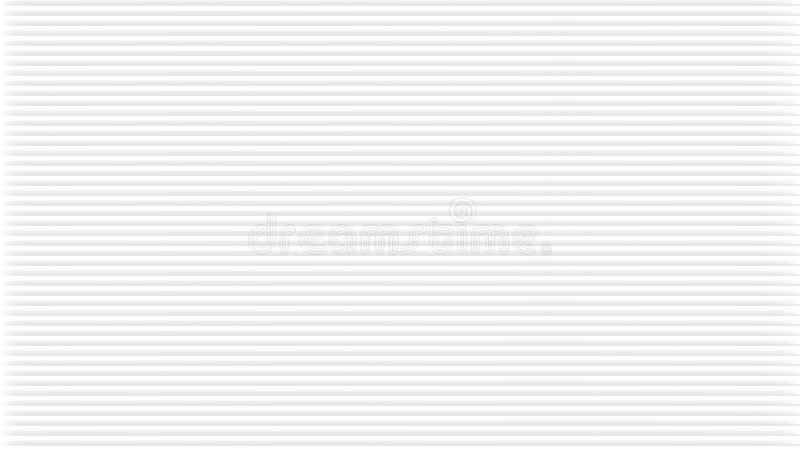 Fond abstrait blanc avec la texture arrondie Le modèle régulier, peut être couvert de tuiles, dans le vecteur Rayures gris-clair  illustration libre de droits