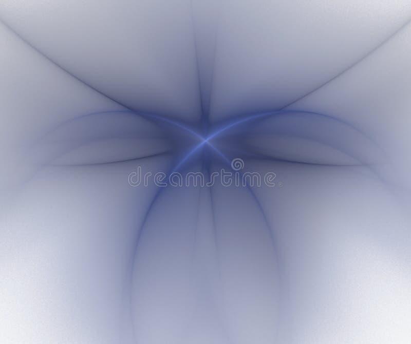 Fond abstrait blanc avec la texture grise brouillée d'étoile S bleu illustration libre de droits