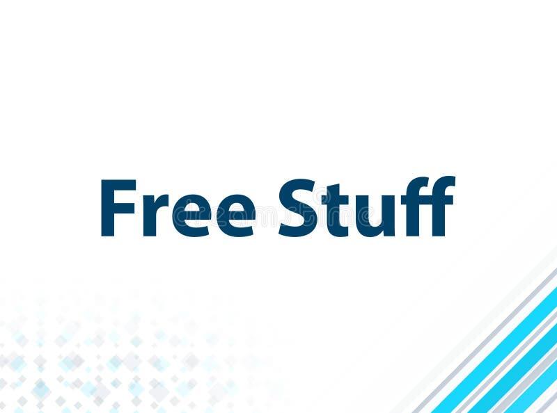 Fond abstrait bleu de conception plate moderne libre de substance illustration libre de droits