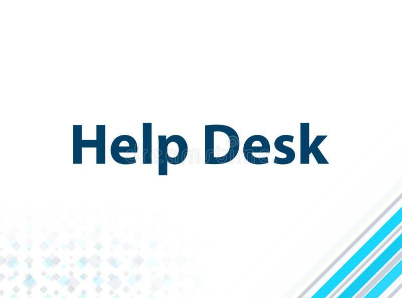 Fond abstrait bleu de conception plate moderne de service SVP illustration stock