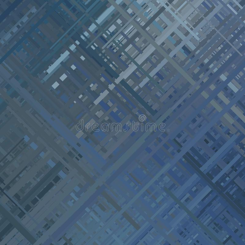 Fond abstrait bleu de problème illustration libre de droits
