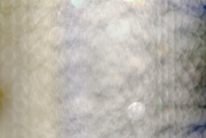 Fond abstrait, bokeh de tache floue de lumière de nuit de ville, CCB defocused images stock