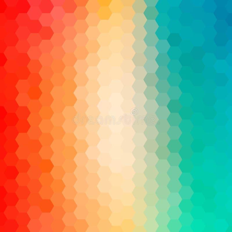 Fond abstrait brillamment color? Illustration de vecteur ENV 10 illustration libre de droits