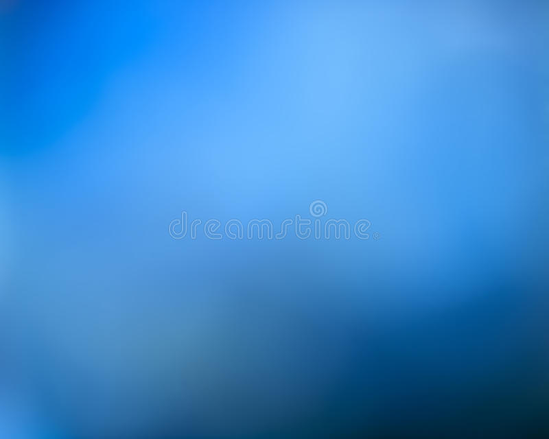 Fond abstrait brouillé bleu photographie stock libre de droits
