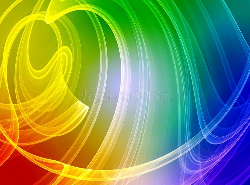 Fond abstrait coloré illustration de vecteur