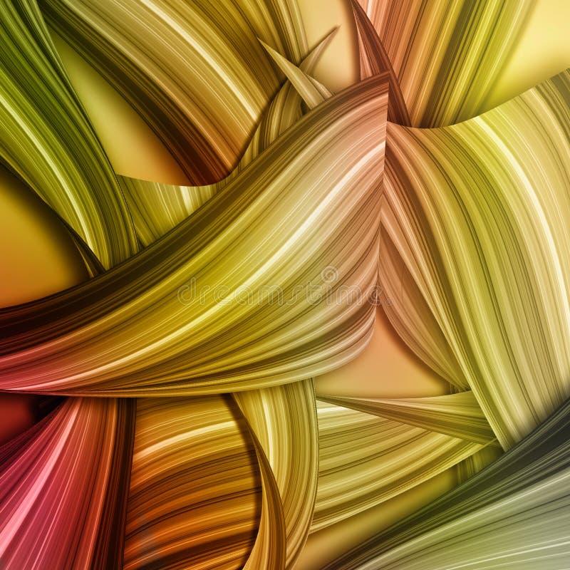 Fond abstrait coloré d'art illustration libre de droits
