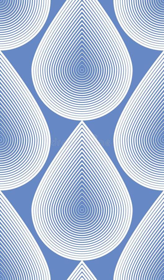 Fond abstrait coloré de vecteur fleuri avec les lignes blanches illustration libre de droits