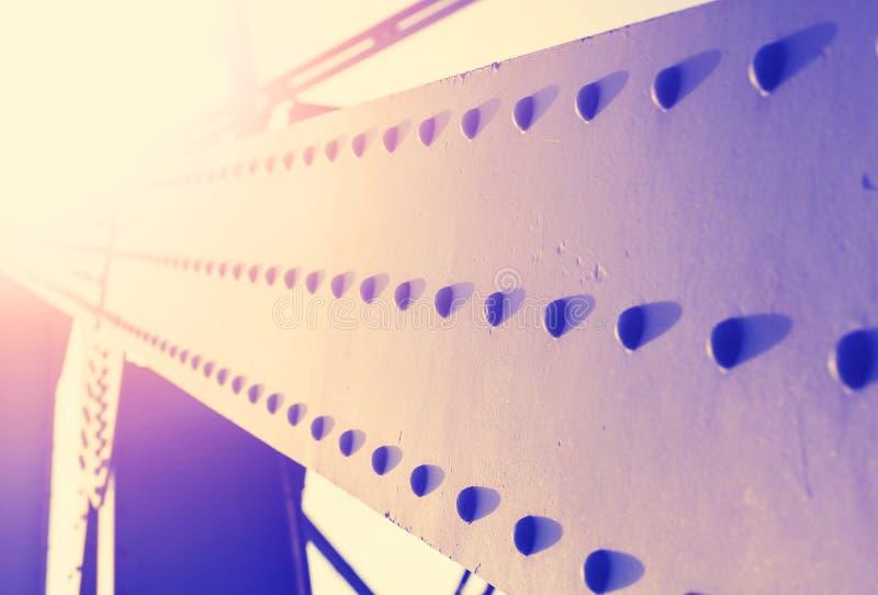 Fond abstrait coloré de vintage de la construction en acier avec photo libre de droits
